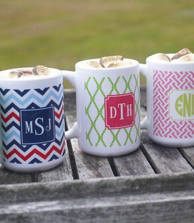 Gift Idea: Personalized Mugs