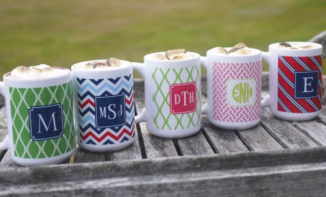 Gift Idea: Personalized Mugs