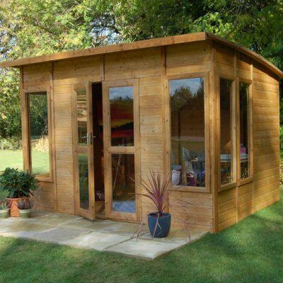 Enhance Your Backyard Garden With A Summerhouse