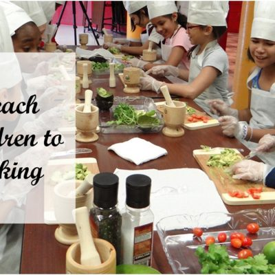 How to Teach your Children to Enjoy Cooking
