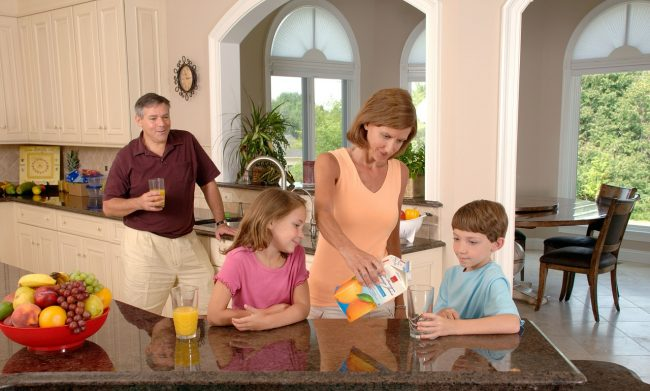 Tips For Creating A Family-Centered Kitchen