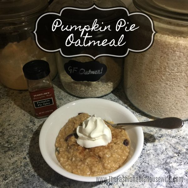 Quick & Easy Recipe for Pumpkin Pie Oatmeal