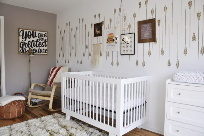 Making a Safe & Stylish Nursery for Your Baby