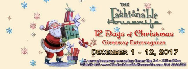 12 Days of Christmas Giveaway Extravaganza 2017!