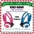 Kidz Gear Unplugged Bluetooth Wireless Headphones