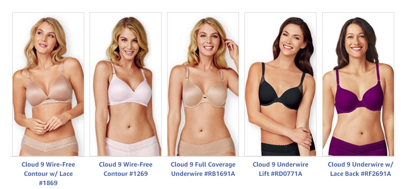 c1299b37b6 Enter To Win A Bra from Warner s Cloud 9 Collection! 5 Winners ...