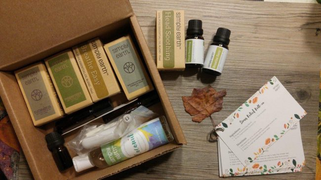 Gift Idea: Simply Earth Essential Oil Subscription Boxes