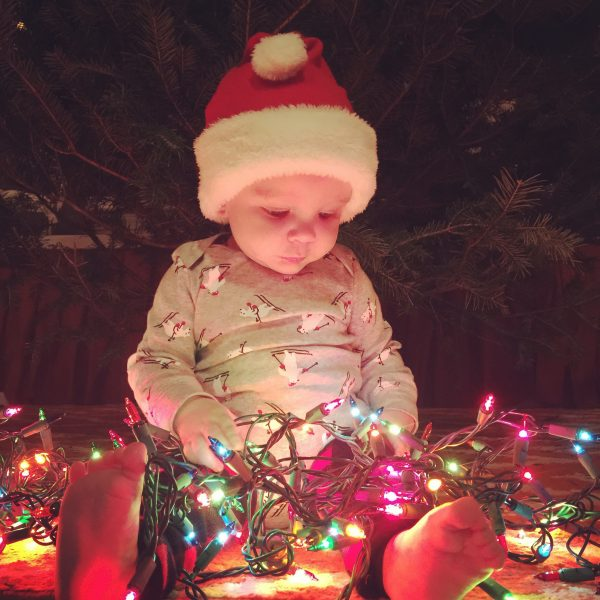 baby christmas lights