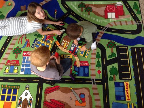kids car rug