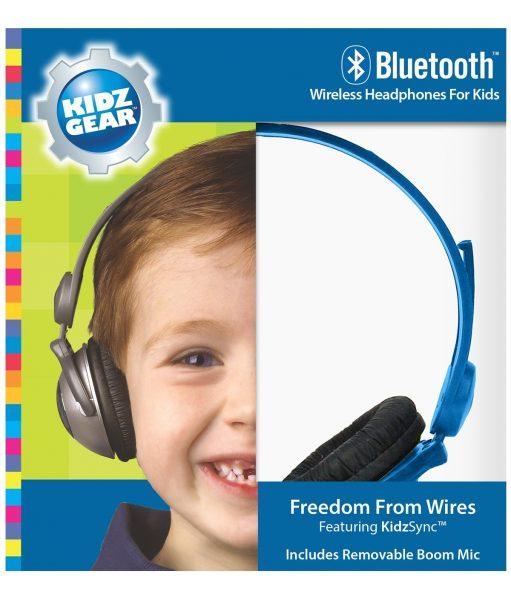 Kidz Gear Unplugged Bluetooth Wireless Headphones