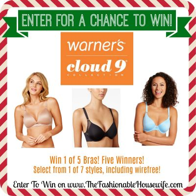 Enter To Win A Bra from Warner's Cloud 9 Collection! 5 Winners!