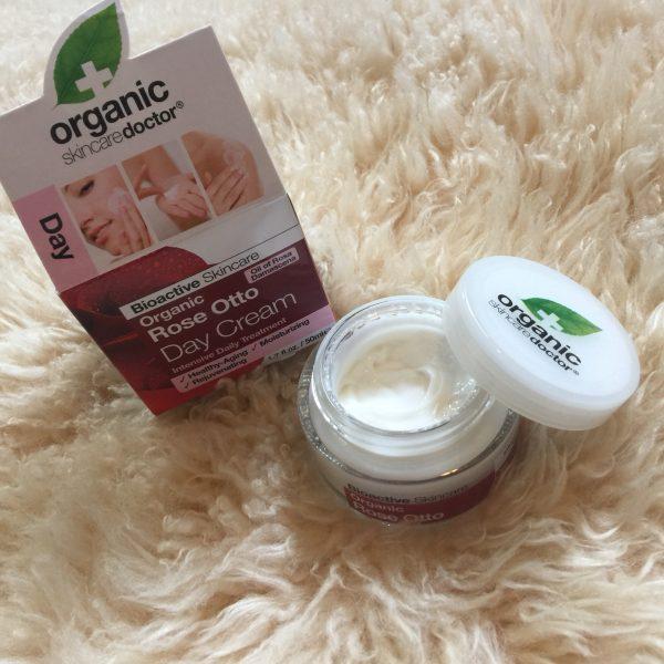 rose otto day cream