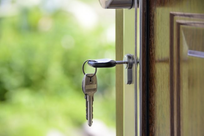 lock house door
