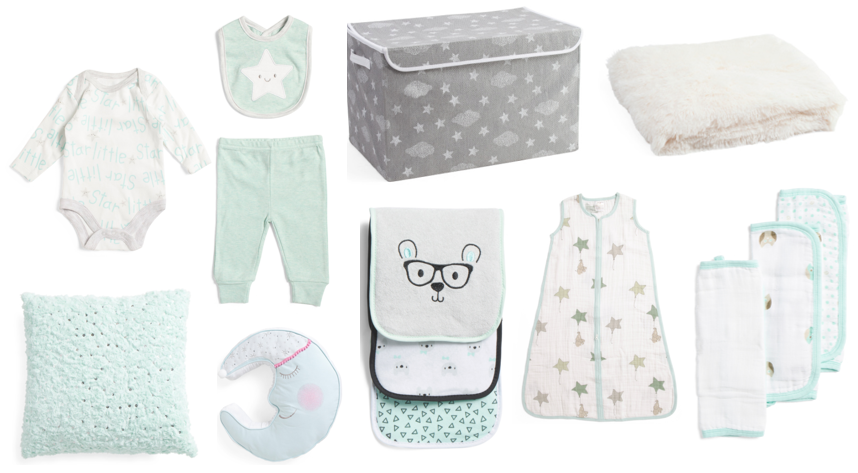mint baby clothes
