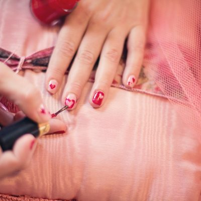 Pretty Polish & Nifty Nail Stickers for Valentine's Day