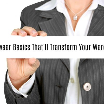 Workwear Basics That'll Transform Your Wardrobe