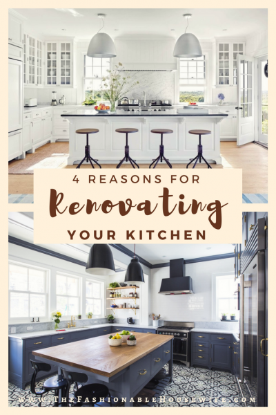 4 Reasons For Renovating Your Kitchen