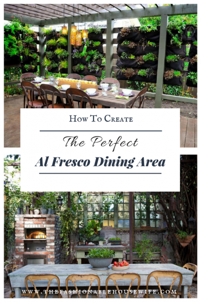 How to Create the Perfect Al Fresco Dining Area