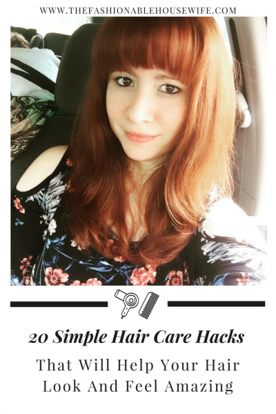 20 Simple Hair Care Hacks