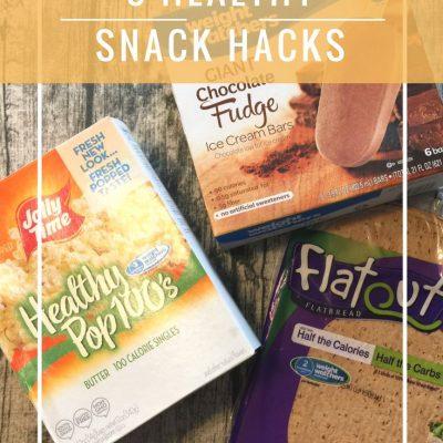 3 Healthy Snack Hacks + Jalapeno Pinwheel Recipe