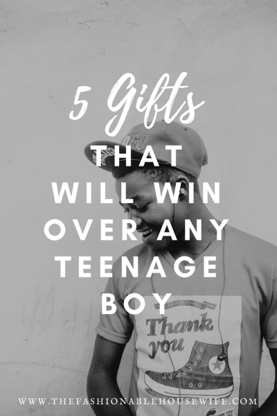 5 Gifts That Will Win Over Any Teenage Boy