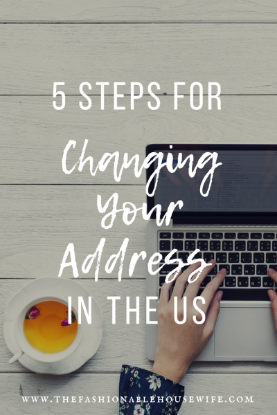 5 Steps For Changing Your Address In The US