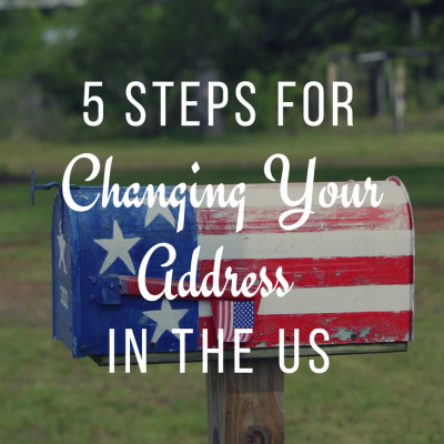 5 Steps to Changing your Address in the US