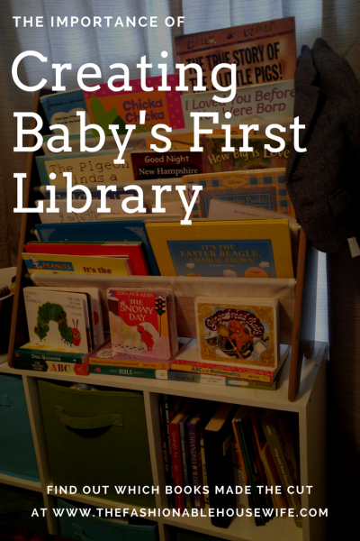 The Importance of Creating Baby's First Library