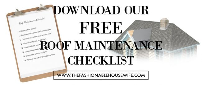 Download Our Free Roof Maintenance Checklist