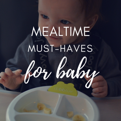 Mealtime Must-Haves For Baby From bblüv