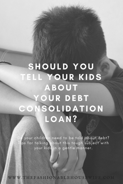 Should You Tell Your Kids About Debt?