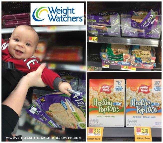 Weight Watchers products in Walmart