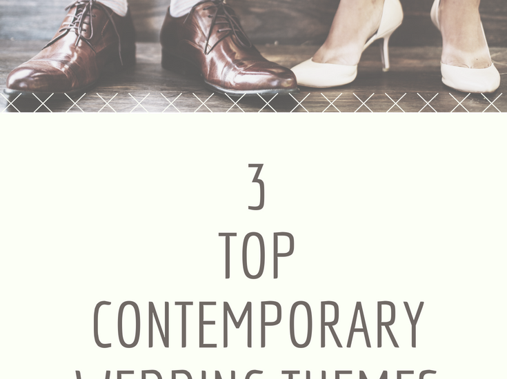 Best Contemporary Wedding Themes for 2018