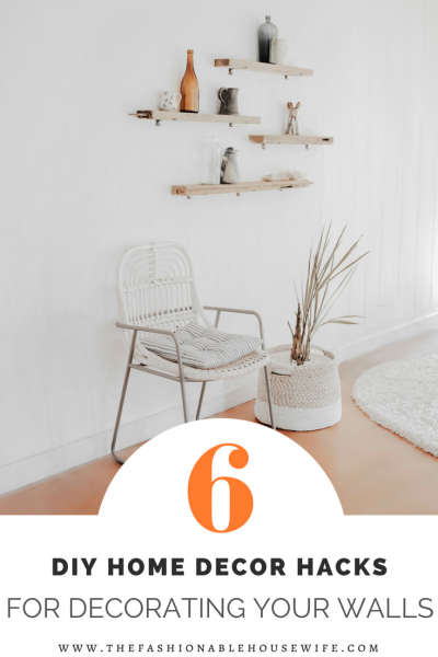 6 DIY Home Decor Hacks For Decorating Your Walls - The ...