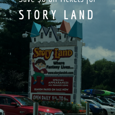 Discount Story Land Tickets For Only $28.99