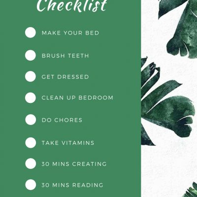 FREE Printable Summer Checklist For Kids!