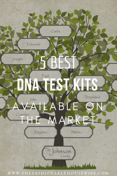 5 Best DNA Test Kits Available On The Market
