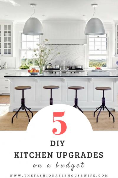 5 DIY Kitchen Upgrades On A Budget