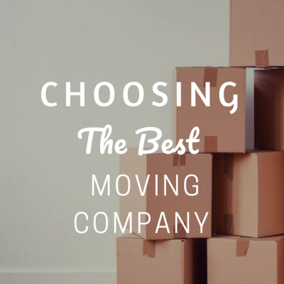Choosing The Best Moving Company
