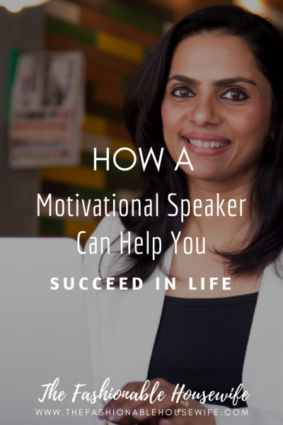 How A Motivational Speaker Can Help You Succeed in Life