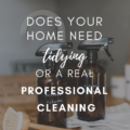 Does Your Home Need Tidying or a Real Professional Cleaning?