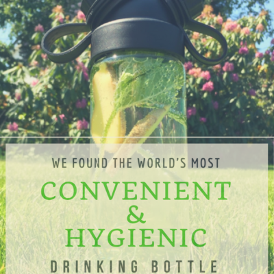 We Found The World's Most Convenient & Hygienic Drinking Bottle!