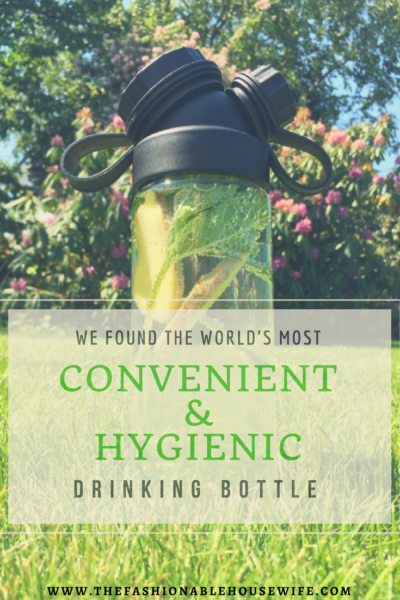 We found the world's most convenient and hygienic drinking bottle!