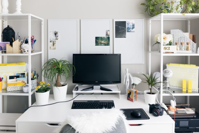 5 Tips For Making A Fashionable Home Office