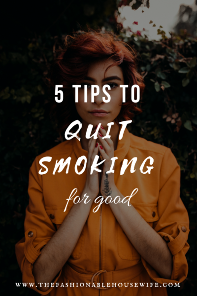 ?5 Tips To Quit Smoking For Good