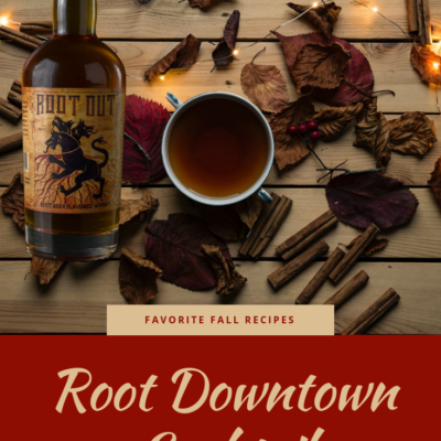 Root Downtown Cocktail made with Root Out Root Beer Flavored Whisky