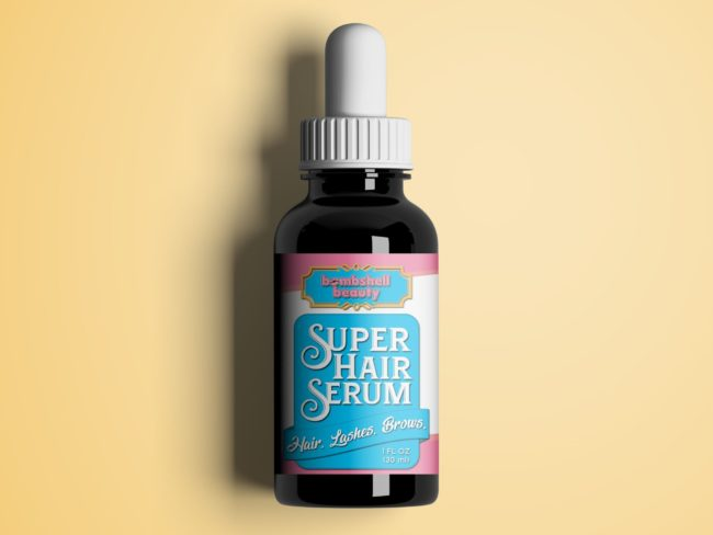Bombshell Super Hair Serum