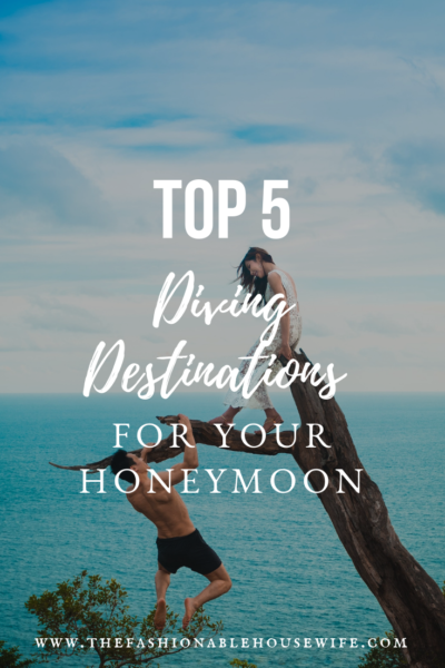 Top Five Diving Destinations for Your Honeymoon