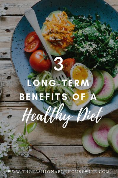 long term benefits of healthy diet
