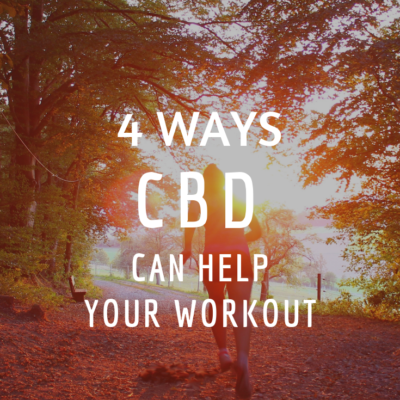 4 Ways CBD Can Help Your Workout